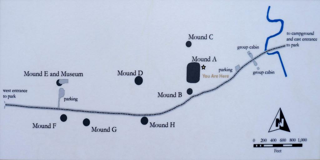 Kolomoki Site Map