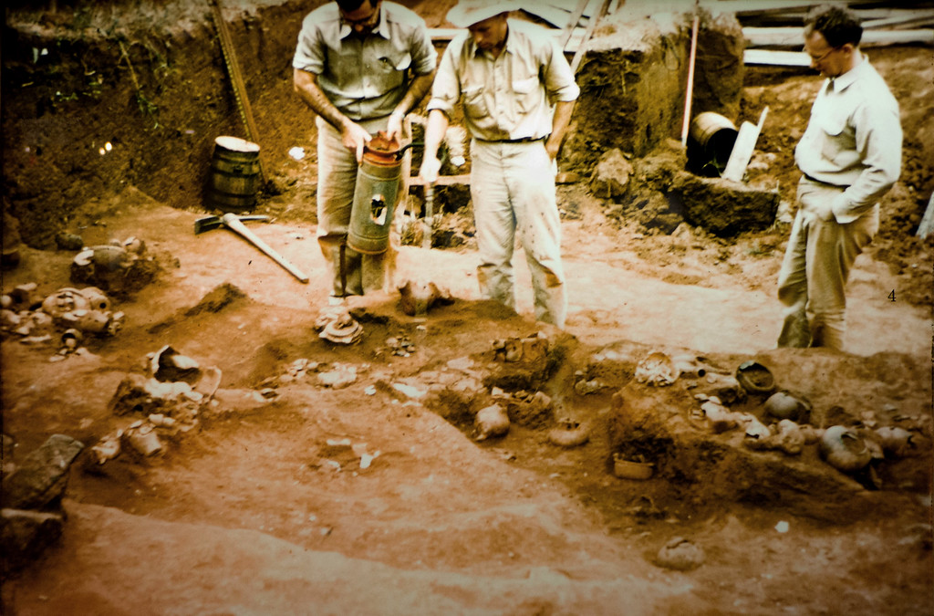 Archaeological excavation