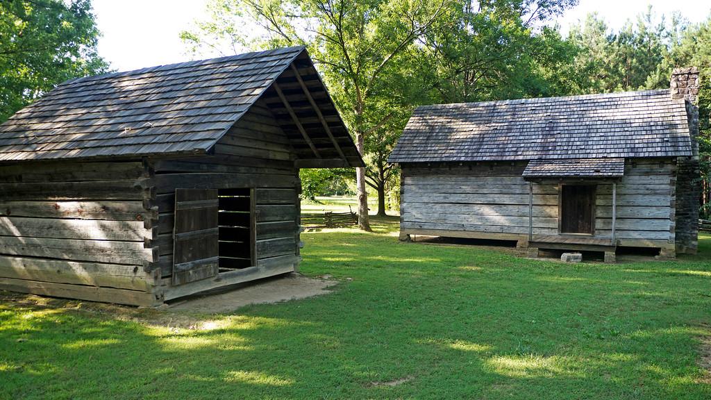 Dwelling House and Smokehouse