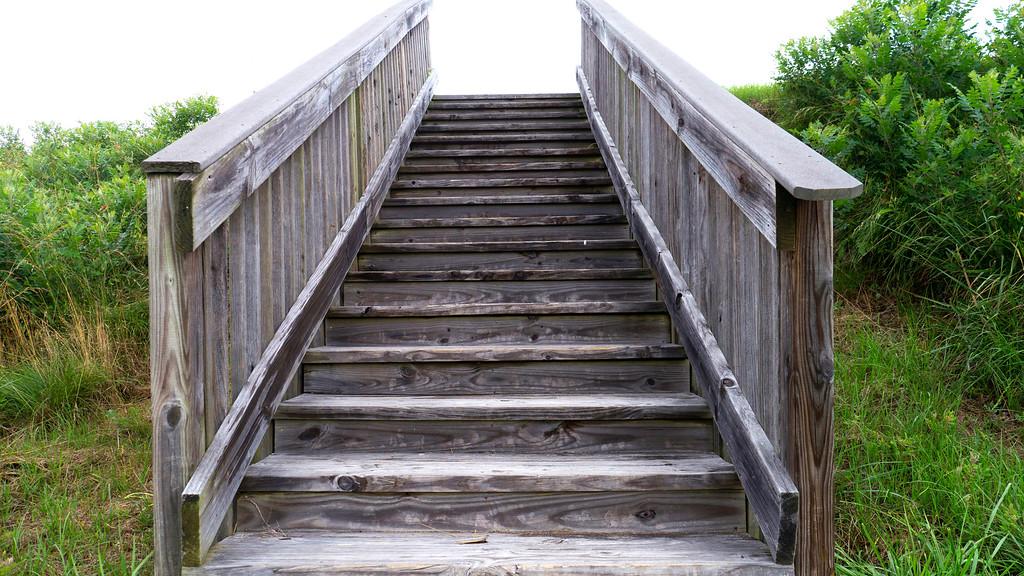 Lesser Mound stairs