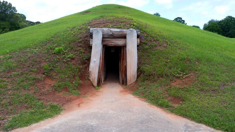 Earth Lodge Doorway 1