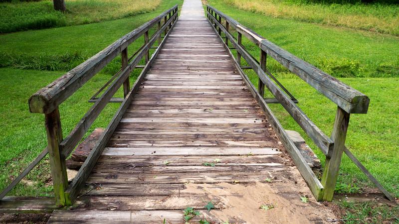Bridge to Earth Lodge