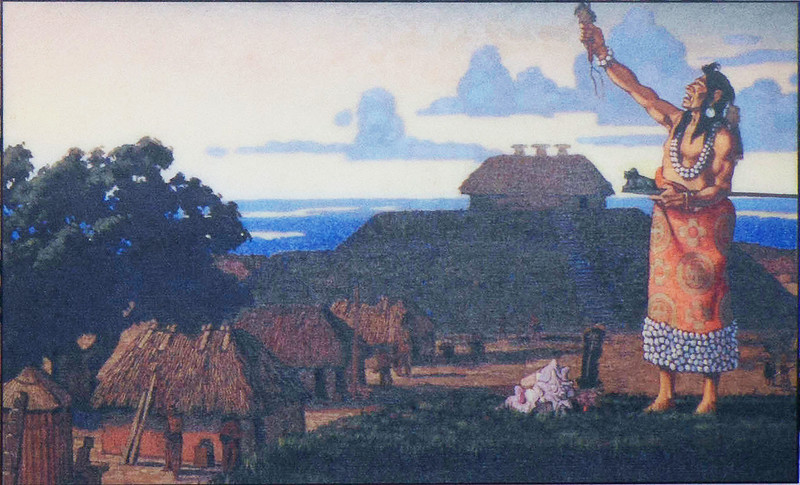Great Temple Mound Painting 1