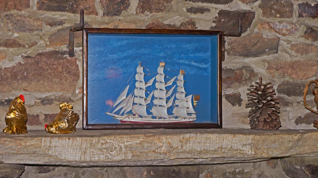 Whaling Ship Model
