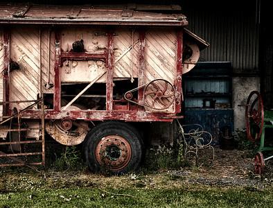Old fire engine.  Ireland, 2013.