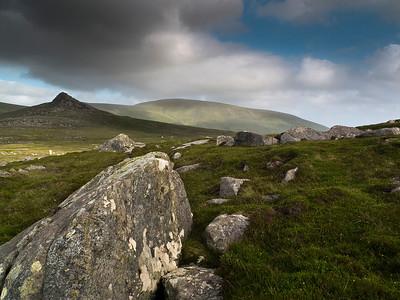 Irish landscape.  South West Ireland, 2013