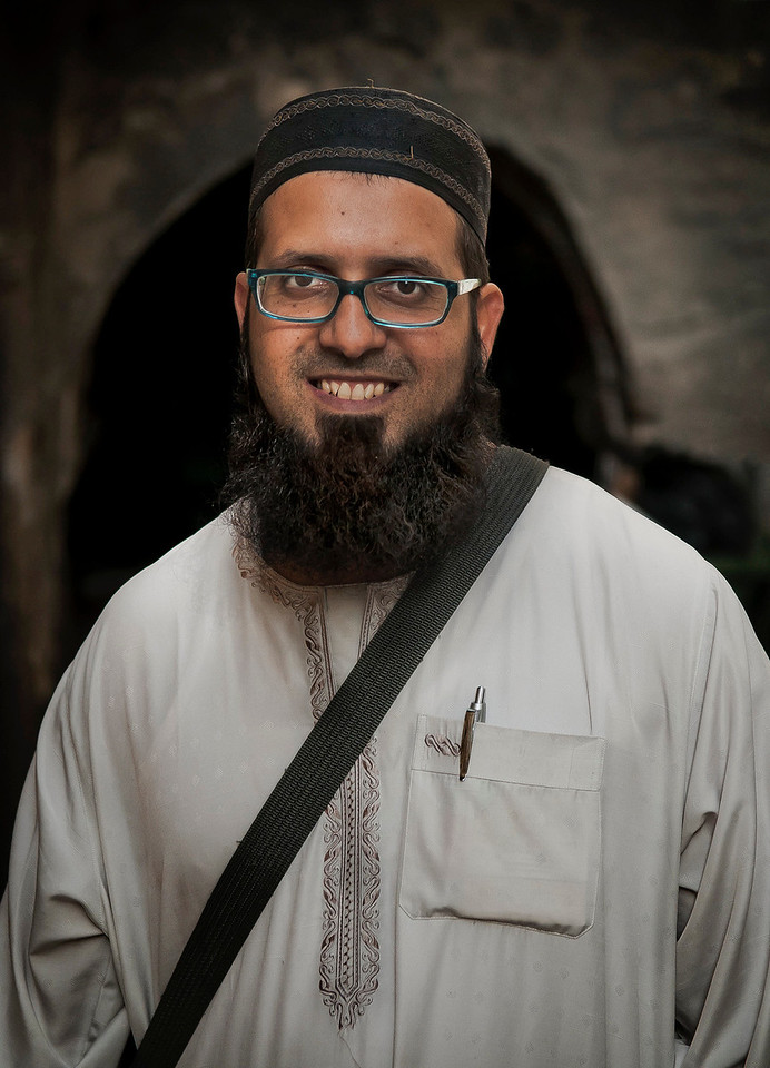 Portrait of a muslim man.<br /> <br /> Jerusalem, Israel, 2012.