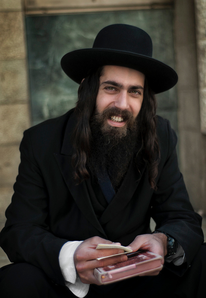 """Portrait of a Hasidim Jew.<br /> <br /> For more on the Hasidim please visit """"the people of Mea Shaerim"""" under the """"meet the people"""" gallery.<br /> <br /> Jerusalem, Israel, 2012."""