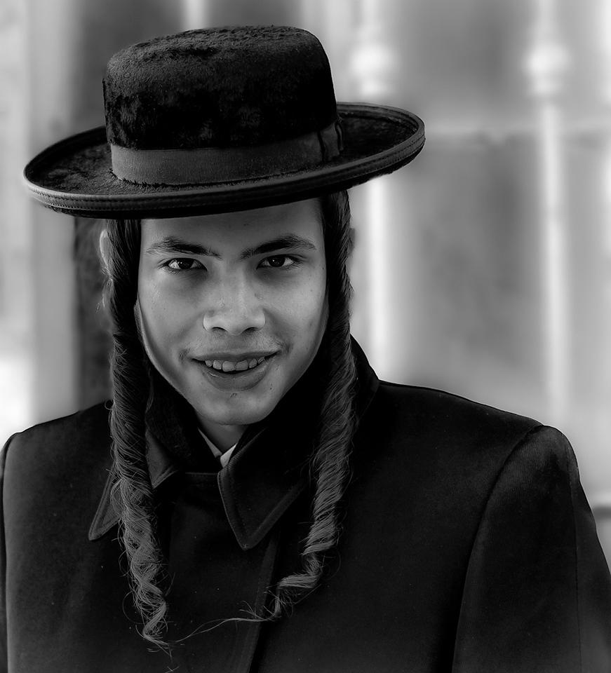 Young Hasidim man.