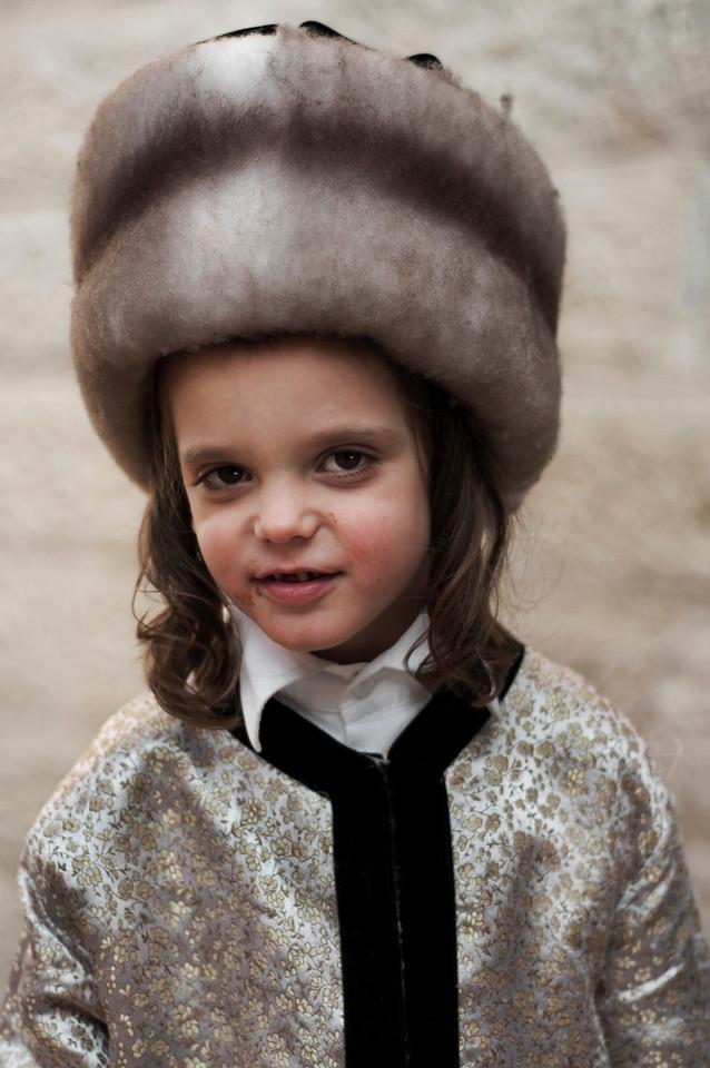 Portrait of a Jewish boy.<br /> <br /> Mea Shearim, Jerusalem, Israel, 2012.