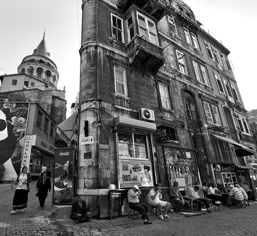 Street scene.<br /> <br /> Istanbul, Turkey, 2016