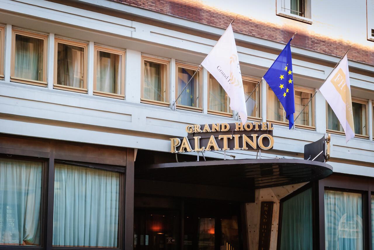 Grand Hotel Palatino, Rome