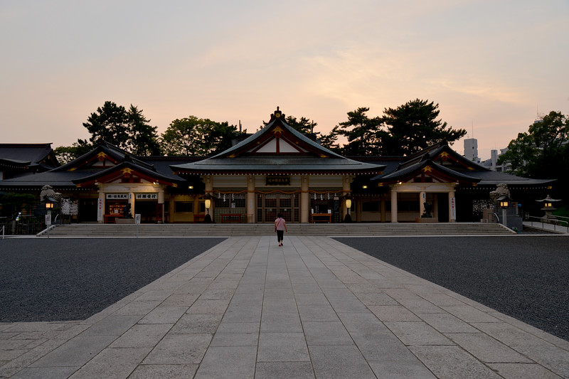 Hiroshima Gokoku Shrine.<br /> <br /> Hiroshima (広島市) is the capital of Hiroshima Prefecture, and the largest city in the Chūgoku region of western Honshu, which is the largest island of Japan. It is recongnized as the first city in history to be targeted by a nuclear weapon when the United States Army Air Forces (USAAF) dropped an atomic bomb on it at 8:15 a.m. on August 6, 1945, near the end of World War II. Hiroshima is situated on the Ōta River delta, on Hiroshima Bay, facing the Seto Inland Sea on its south side. The river's six channels divide Hiroshima into several islets.