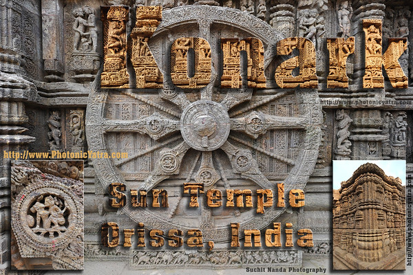 India, Orissa. Konark Sun Temple