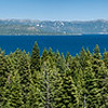Carnelian Bay on Lake Tahoe Panoramic