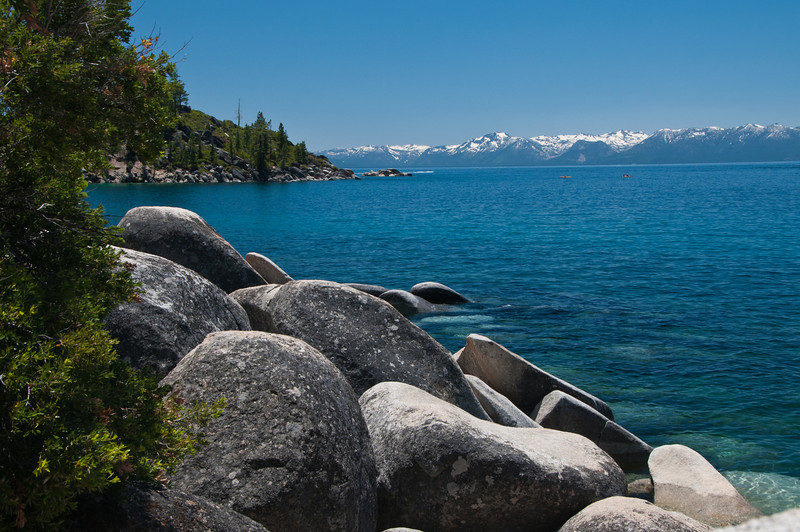 East Shore of Lake Tahoe