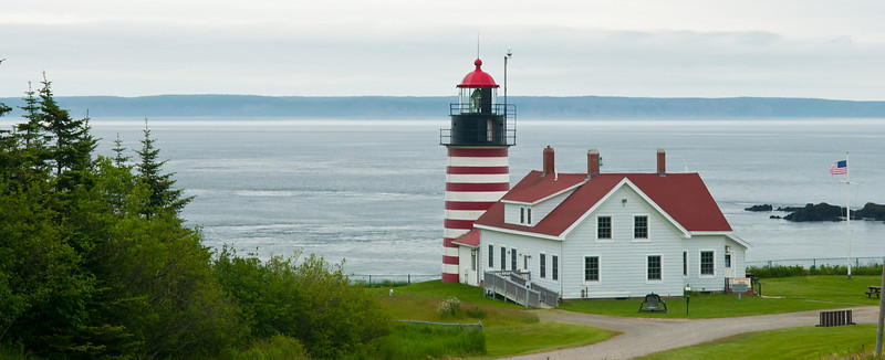 West Quoddy Head Light Panoramic