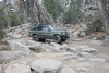 Conal MacKendrick's nicely built Range Rover (P38 body style) navigates the rocks