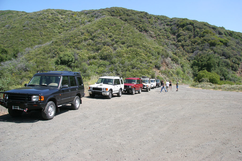 Trail head meeting point