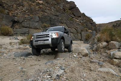 Ed's LR3 in Rattlesnake Canyon