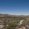 Looking down over Rattlesnake Canyon