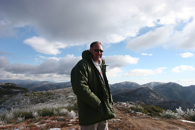 Jeff Tesdahl conquered the Cleghorn Trail.  Jeff took every offshoot and obstacle, and did them all without a scratch.