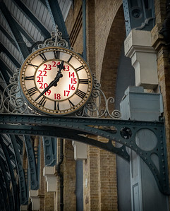 King's Cross Station Clock