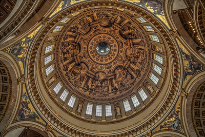 The dome of St. Paul's Cathedral
