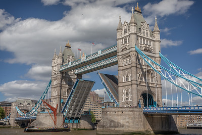 Tower Bridge opens