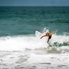 Just a kid catching a wave. Kodak Portra. 2014.