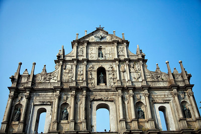 Ruins of St. Paul Cathedral