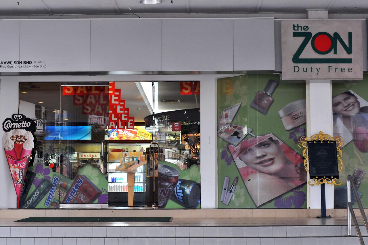 The Zon Duty free shopping at Langkawi, Malaysia