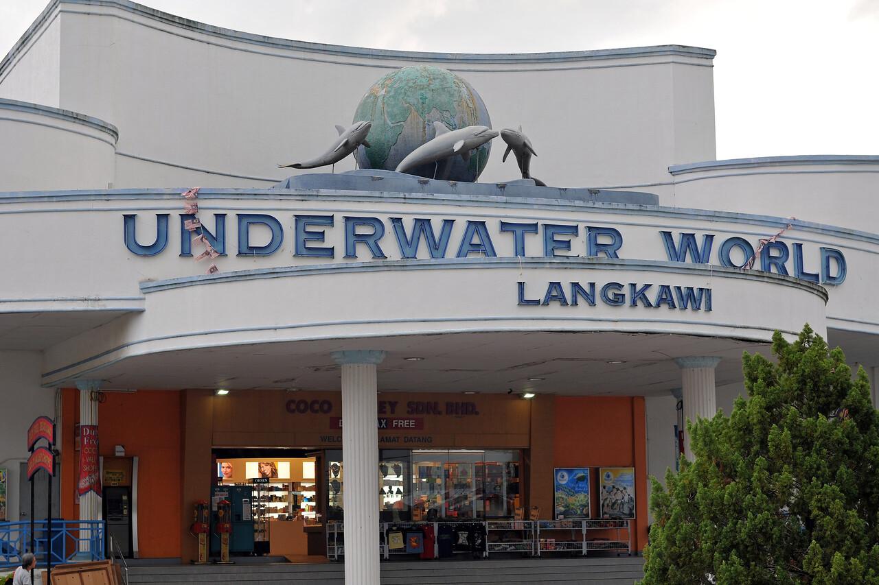 Underwater World at Langkawi, Malaysia