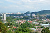 View of George Town, Penang, Malaysia.