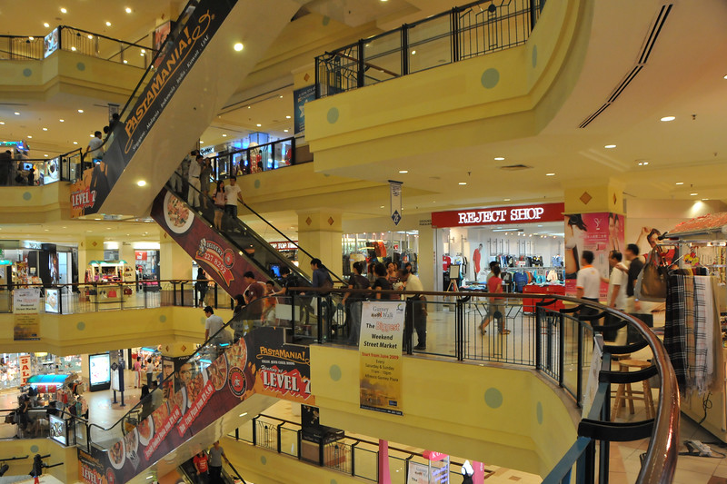 """Shopping in Penang. Gurney Plaza.<br /> Penang (pronounced /pəˈnæŋ/; (Malay: Pulau Pinang)) is a state in Malaysia which is located on the north-west coast of Peninsular Malaysia by the Strait of Malacca. The name """"Penang"""" comes from the modern Malay name Pulau Pinang, which means island of the betel nut tree. It is the second smallest state in Malaysia. Penang is often known as """"The Pearl of the Orient"""" and """"Pulau Pinang Pulau Mutiara"""" (Penang Island of Pearls)."""