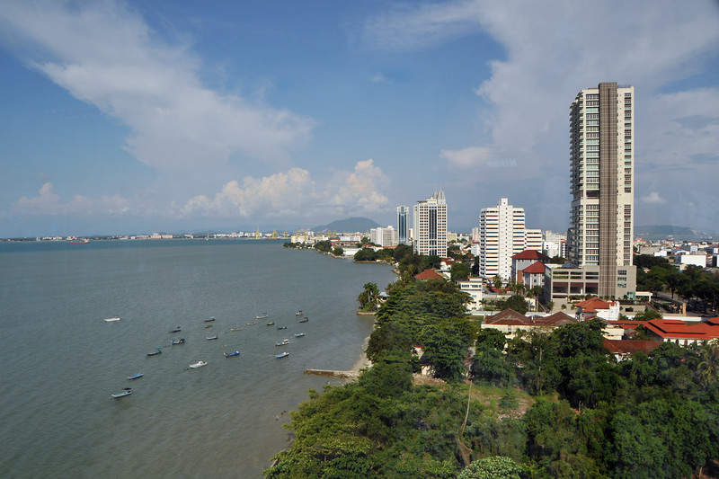 """View of Penang City from WOU. <br /> IDRC's PAN ALL 2009 CONFERENCE, Penang, Malaysia. 12-14 June, 2009.<br /> Canadian International Development Research Centre organized 3rd PAN (PAN Asia Networking) All partners' conference held in Penang to bring together its research partners in the Asian region. More than 150 participants, including project and sub-project leads, representatives from PAN research networks, targeted global researchers in ICTD, key regional practitioners and researchers, evaluators, donors and relevant IDRC staff attended the conference held at Wawasan Open University (WOU).<br /> For more details see:  <a href=""""http://www.idrc.ca/pan/ev-136463-201-1-DO_TOPIC.html"""">http://www.idrc.ca/pan/ev-136463-201-1-DO_TOPIC.html</a>  and <a href=""""http://panall.crowdvine.com/"""">http://panall.crowdvine.com/</a>"""