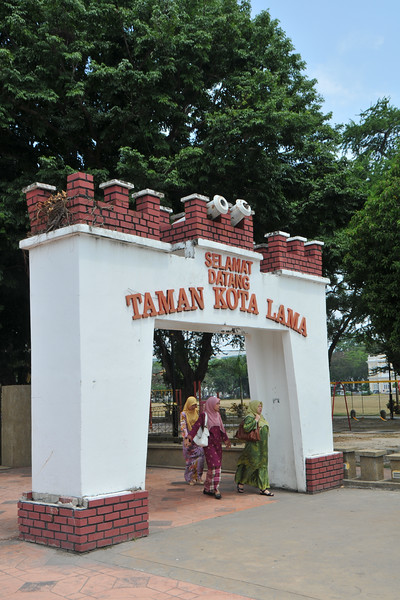 """Selamant Datang (Welcome) Taman Kota Lama.<br /> Penang (pronounced /pəˈnæŋ/; (Malay: Pulau Pinang)) is a state in Malaysia which is located on the north-west coast of Peninsular Malaysia by the Strait of Malacca. The name """"Penang"""" comes from the modern Malay name Pulau Pinang, which means island of the betel nut tree. It is the second smallest state in Malaysia. Penang is often known as """"The Pearl of the Orient"""" and """"Pulau Pinang Pulau Mutiara"""" (Penang Island of Pearls)."""