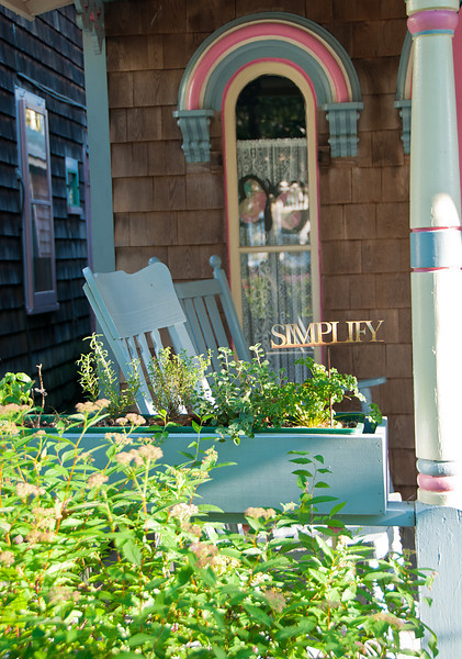Simplify on the Front Porch