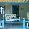 Porch Swing in Blue