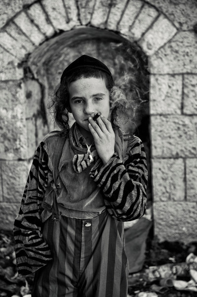 """On Purim, young people think it's possible to have fun and smoke under the guise of merrymaking,"""