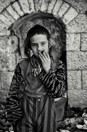 """""""On Purim, young people think it's possible to have fun and smoke under the guise of merrymaking,"""""""