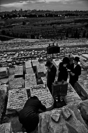 The Kidron Valley is one of Jerusalem's most sacred locales, due to its location between the Temple Mount and the Mount of Olives.   On the Mount of Olives is the world's oldest Jewish cemetery, where it is believed the resurrection of the dead will begin when the Messiah comes. Legend has it that a miraculous bridge will span the valley at the end of time, over which the righteous will pass on their way to the Temple Mount.    This part of the Kidron is also called the Valley of Jehosafat, where God will judge the nations of the world (Joel 3:12). Another name for the valley is the Vale of the King; it was once intensely cultivated and the revenues went to the king.