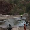 Water crossing on way to San Javier