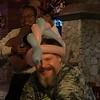 Howard & his new head dress