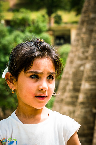 Young Yazidi girl