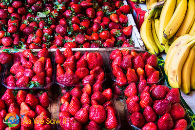 Strawberries and Bananas... The start of a very good friendship.