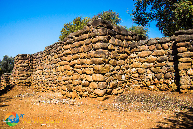 3000+ year old wall of Tel Dan
