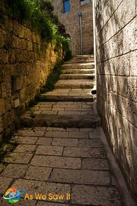 Street down to Simon the Tanner's house