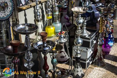 Arab area, Hookahs