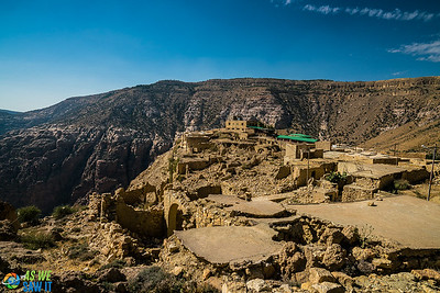 Dana Village, Jordan is over 500 years old.